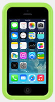 Green KX Case for iPhone 5C