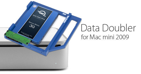 Mac mini 2009 Data Doubler