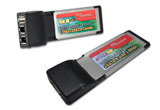 Laptop PCMCIA & Express 34 Cards