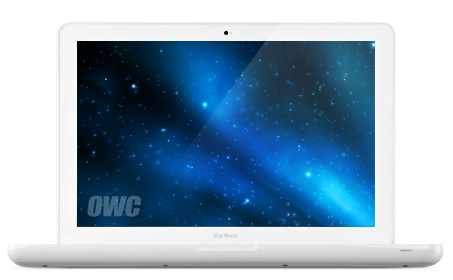 Macbook White 09 Unibody