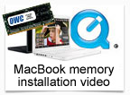Macbook memory installation video