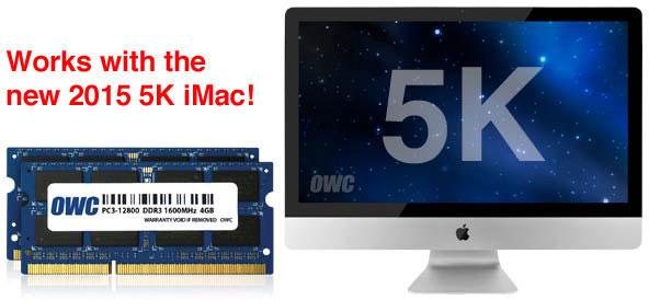 Memory for iMac 5K 2015