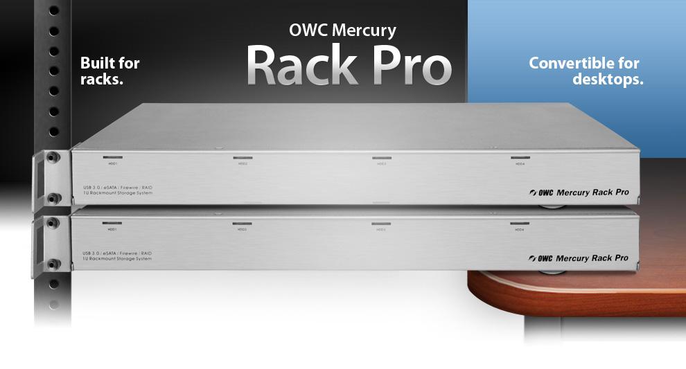 Owc Rack Mount Hdd Hard Drive Storage Solutions Firewire