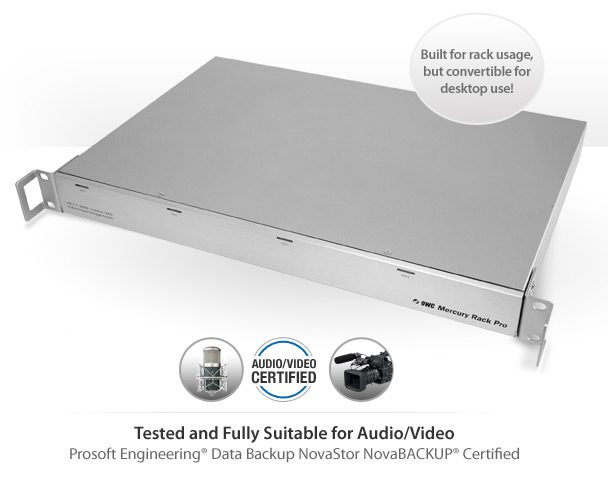 Tested and Fully Suitable for Audio/Video and are Prosoft Engineering®, Data Backup NovaStor NovaBACKUP® Certified.