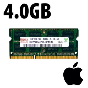 (*) 4.0GB Apple-Hynix Factory Original PC10600 DDR3 204 Pin CL9 1333MHz SO-DIMM Module *Used / Pull*
