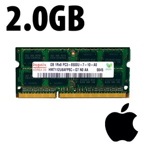 (*) 2.0GB Apple-Micron Factory Original PC12800 DDR3L 204 Pin CL11 1600MHz SO-DIMM Module