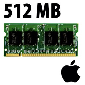 (*) 512MB Apple-Major Brand Factory Original PC5300 DDR2 200 Pin CL5 667MHz SO-DIMM Module *Used / P