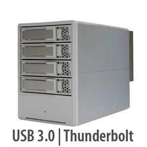 Areca ARC-5026 4-Bay Thunderbolt to 6Gb/s SATA RAID Storage