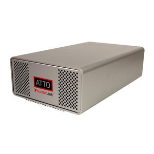 ATTO ThunderLink SH 1068 10Gb/s Thunderbolt (2-port) to 6Gb/s SAS/SATA (8-Port) Desklink Device