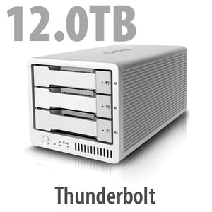 12.0TB CalDigit T3: Thunderbolt RAID Storage Solution