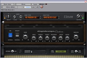 Digidesign Eleven LE - Digidesign's Amp Emulation Software for Pro Tools