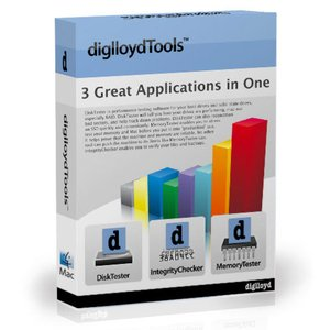 diglloyd Tools Utility Suite for Mac OS X: DiskTester, MemoryTester, IntegrityChecker