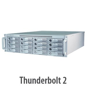 HighPoint Technologies NA333TB 3U Rack mount Thunderbolt 2 Storage & PCIe Expansion Enclosure