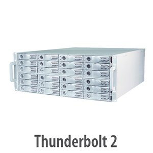 HighPoint Technologies NA381TB 4U Rack mount Thunderbolt 2 Storage & PCIe Expansion Enclosure