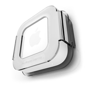 H-Squared Air Mount Express: Acrylic mount for your Apple AirPort Express base station.