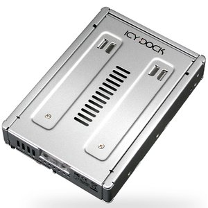 "Icy Dock Full Metal 2.5"" to 3.5"" SATA SSD & HDD Converter Tray - 3.5"" drive bay adapter."