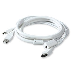 "3.0 Meter (118"") Kanex Extension Cable for Apple LED Cinema Display 24- and 27-inch models - white."