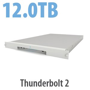 12.0TB LaCie 8big Rack Thunderbolt 2 Series 8 Bay Rack-mounted Hard Drive Solution