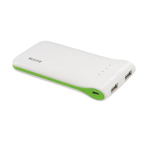 Leitz Mobile Battery pack, USB, Backup battery for iPod, iPhone, iPad & USB powered devices.