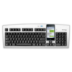 Matias One Keyboard for Apple Mac + Bluetooth. Easily switch between typing to Mac, iPad, or iPhone!