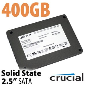 400GB Crucial / Micron P400e 2.5-inch 7mm SATA 6.0Gb/s Solid-State Drive