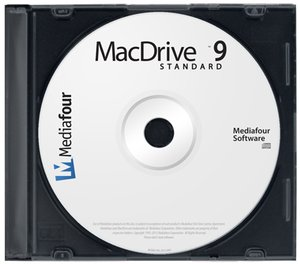MediaFour MacDrive 9 Standard: Get seamless access to Mac files on Mac disks from Windows.