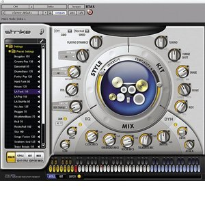 Digidesign Strike - Digidesign's Ultimate Virtual Drummer Plug-In for Pro Tools