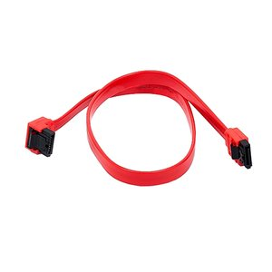 "0.5 Meter (18"") Serial ATA (SATA) Internal 7 pin to 7 pin, right angle to straight connector cable"