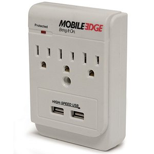 Mobile Edge DualPower DX AC and USB Charging Outlets