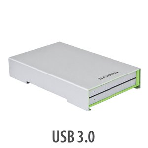 "Raidon RunneR Series 2.5"" 2Bay Toolless USB 3.0 RAID Enclosure"
