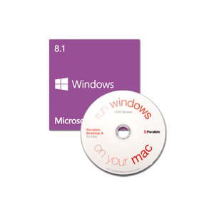 Parallels / Microsoft: Desktop 10 For Mac OEM & Windows 8.1 64-bit OEM.