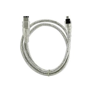 "1.8 Meter (72"") NewerTech FireWire 400 4-Pin (1394A) to FireWire 400 6-Pin (1394A) Cable"