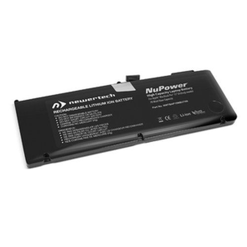 (*) NewerTech NuPower 78 Watt-Hour Battery for MacBook Pro 15-inch Unibody Mid-2009 & Mid-2010