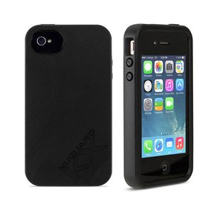 NewerTech NuGuard KX. Color: Darkness. X-treme Protection for Your iPhone 4/4S