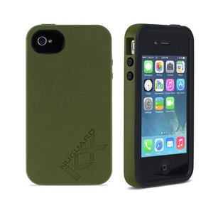 NewerTech NuGuard KX. Color: Nubar Forest . X-treme Protection for Your iPhone 4/4S