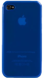 NewerTech NuGuard Gel Case for all iPhone 4/4S versions - Blue Color