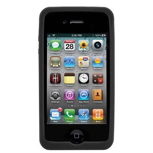NewerTech NuGuard Silicone Case for original iPhone 4/4S - Black Color.