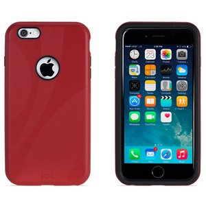 NewerTech NuGuard KX. Color: Red. X-treme Protection for Your iPhone 6/6s Plus