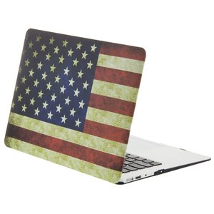 NewerTech NuGuard Snap-On Laptop Cover. American Flag. Compatible w/ all 13-inch MacBook Air models.