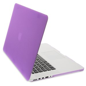 NewerTech NuGuard Snap-On Laptop Cover. Purple. Compatible with all 13-inch MacBook Air models.