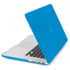NewerTech NuGuard Snap-On Laptop Cover. Light Blue. For 15-inch MacBook Pro with Retina display.