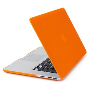 NewerTech NuGuard Snap-On Laptop Cover. Orange. For 15-inch MacBook Pro with Retina display.