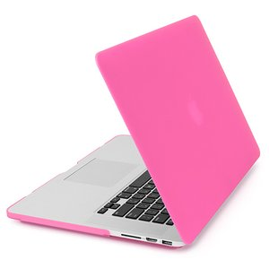 NewerTech NuGuard Snap-On Laptop Cover. Pink. For 15-inch MacBook Pro with Retina display.