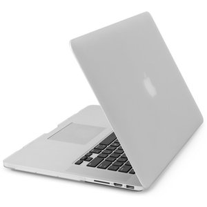 NewerTech NuGuard Snap-On Laptop Cover. White. For 15-inch MacBook Pro with Retina display.