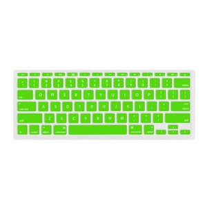 "NewerTech NuGuard Keyboard Cover for all 2011-15 MacBook Air 11"" models - Green Color."