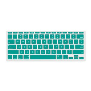 "NewerTech NuGuard Keyboard Cover for all 2011-15 MacBook Air 11"" models - Teal Color."