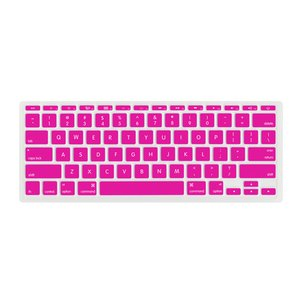 "NewerTech NuGuard Keyboard Cover for all 2011-15 MacBook Air 11"" models - Pink Color."