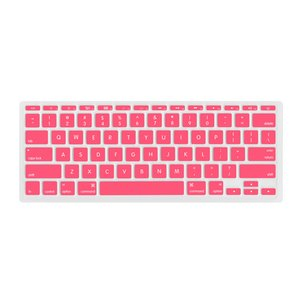"NewerTech NuGuard Keyboard Cover for all 2011-15 MacBook Air 11"" models - Rose Color."