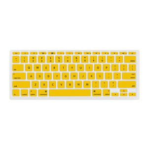 "NewerTech NuGuard Keyboard Cover for all 2011-15 MacBook Air 11"" models - Yellow Color."