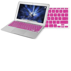 "NewerTech NuGuard Keyboard Cover - Pink Color. For use with 11"" MacBook Air 2010."